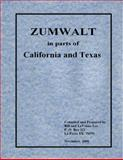 ZUMWALT in parts of California and Texas, , 0981804845