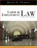 Labor and Employment Law, Twomey, David, 0324154844