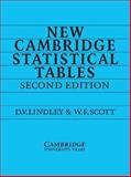 New Cambridge Statistical Tables 9780521484855