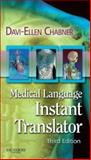 Medical Language Instant Translator, Chabner, Davi-Ellen, 1416034854
