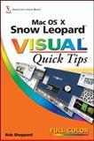 Mac OS X Snow Leopard Visual Quick Tips, Rob Sheppard, 0470534869
