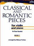 Classical and Romantic Pieces for Violin, Forbes, Watson, 0193564866