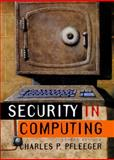 Security in Computing, Pfleeger, Charles P., 0133374866