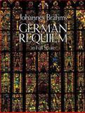 German Requiem in Full Score, Johannes Brahms, 0486254860