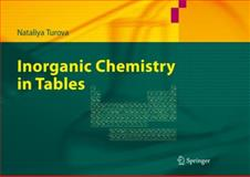 Inorganic Chemistry in Tables, Turova, Nataliya, 3642204864