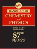 Crc Handbook of Chemistry and Physics 87th Edition, Lide David R Staff, 0849304873