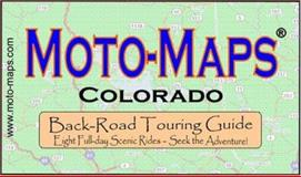 Moto-Maps Colorado, Keith Myers, 0976484870