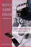 Psychosocial Aspects of Disability, Henderson, George and Bryan, Willie V., 0398074879