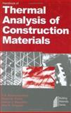 Handbook of Thermal Analysis of Construction Materials 9780815514879