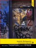 Juvenile Delinquency, Thompson, William E. and Bynum, Jack E., 0205934889