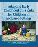 Adapting Early Childhood Curricula for Children in Inclusive Settings, Cook, Ruth E. and Klein, M. Diane, 0131124889
