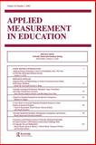 Vertically Moderated Standard Setting : A Special Issue of applied Measurement in Education, , 0805894888