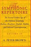The Symphonic Repertoire 9780253334886