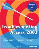 Troubleshooting Microsoft Access 2002, Andersen, Virginia and Pierce, John, 0735614881