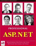 Professional ASP.NET, Anderson, Richard and Francis, Brian, 1861004885