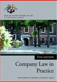 Company Law in Practice, Inns of Court School of Law, 019928489X
