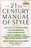 The Twenty-First Century Manual of Style, Barbara Ann Kipfer, 0440504899