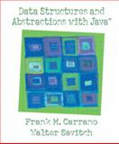 Data Structures and Abstractions with Java, Carrano, Frank M. and Savitch, Walter, 0130174890