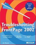 Troubleshooting Microsoft FrontPage 2002, Buyens, Jim, 073561489X