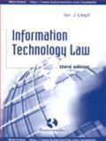 Information Technology Law, Lloyd, Ian J., 0406914893