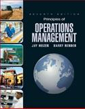 Principles of Operations Management and Student CD and Student DVD, Heizer, Jay, 0136014895