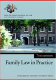 Family Law in Practice, Inns of Court School of Law, 0199284903