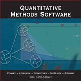 Quantitative Methods Software, Nowotny, Ned and Atchison, Mark, 0759394903