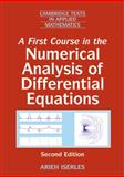 A First Course in the Numerical Analysis of Differential Equations, Iserles, Arieh and Iserles, A., 0521734908