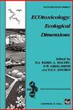 ECOtoxicology - Ecological Dimensions, , 0412754908