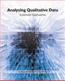 Analyzing Qualitative Data : Systematic Approaches, Ryan, Gery W., 0761924906
