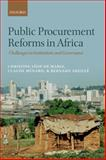 Public Procurement Reforms in Africa : Challenges in Institutions and Governance, Léon de Mariz, Christine and Abeillé, Bernard, 0198714912