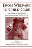 From Welfare to Childcare : What Happens to Young Children When Mothers Exchange Welfare for Work?, , 0415654912