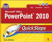 Microsoft Office PowerPoint 2010 QuickSteps, Matthews, Carole Boggs, 0071634916
