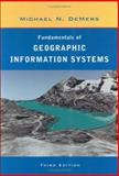 Fundamentals of Geographic Information Systems, DeMers, Michael N., 0471204919