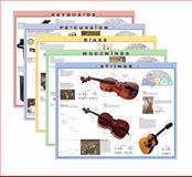 Instrument Family Posters and Outline Sheets 5 Large/4 Posters, Alfred Publishing Staff, 075799492X
