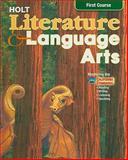 Holt Literature and Language Arts, Holt, Rinehart and Winston Staff, 0030564921