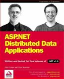 ASP.NET Distributed Data Applications, Homer, Alex and Sussman, Dave, 1861004923