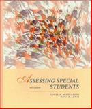 Assessing Special Students : Strategies and Procedures, McLoughlin, James A. and Lewis, Rena B., 0023794925