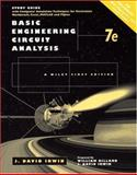 Basic Engineering Circuit Analysis : Study Guide with Computer Simulation Techniques for Electronics Workbench, Excel, Matlab, and Pspice, Irwin, J. David and Wu, Chwan-Hwa, 0471034924