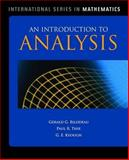 An Introduction to Analysis, Bilodeau, Gerald G. and Thie, Paul R., 0763774928
