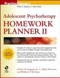 Adolescent Psychotherapy Homework Planner II, Jongsma, Arthur E., Jr. and McInnis, William P., 0471274933
