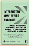 Interrupted Time Series Analysis, McDowall, David and McCleary, Richard, 0803914938