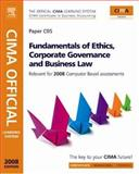 CIMA Official Learning System Fundamentals of Ethics, Corporate Governance and Business Law, Mead, Larry and Sagar, David, 0750684933