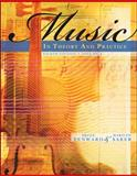 Music in Theory and Practice, Benward, Bruce and Saker, Marilyn, 0077254945
