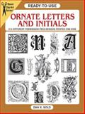 Ornate Letters and Initials, Dan X. Solo, 0486284948