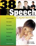 38 Basic Speech Experiences, Clark Stites Carlile and Dana Hensley, 075693494X