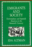 Emigrants and Society 9780520064942