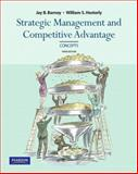Concepts, Strategic Management and Competitive Advantage, Barney, Jay and Hesterly, William S., 0136094945