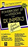 PowerPoint 97 for Windows for Dummies, Camille McCue, 0764504940