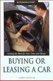 Econoguide or Leasing a Car, Corey Sandler, 0762724943
